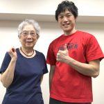 宮川さま(85歳・女性 – 卓球選手)